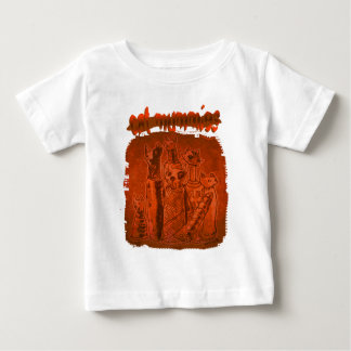 cat mummies rusty orange baby T-Shirt