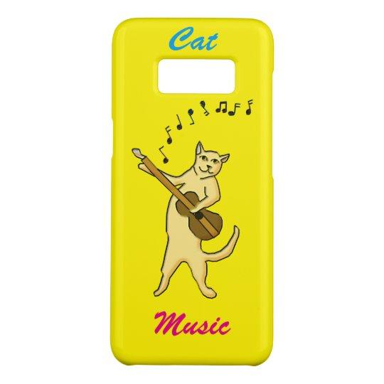 Cat Music Case-Mate Samsung Galaxy S8 Case