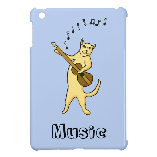 Cat Music Cover For The iPad Mini