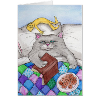 Cat Nap. Card