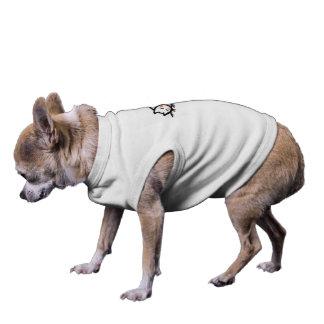 Cat Nap . Doggie Ribbed Tank Top Sleeveless Dog Shirt
