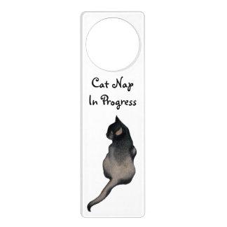 Cat Nap Door Hanger