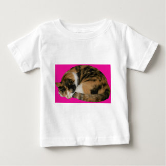 Cat Napping Baby T-Shirt
