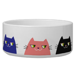 Cat Neon Vibrant Colors Funny Pattern Cool Modern