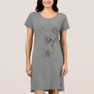 Cat Nightgown/Dress Dress