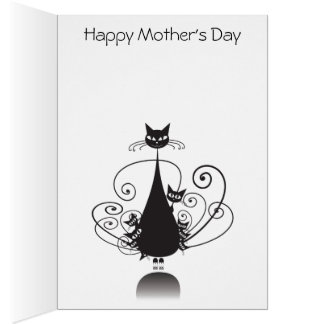 Cat O' Nine Tails Happy Mother's Day - Card 1