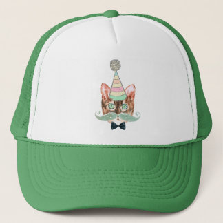 Cat obsession trucker hat