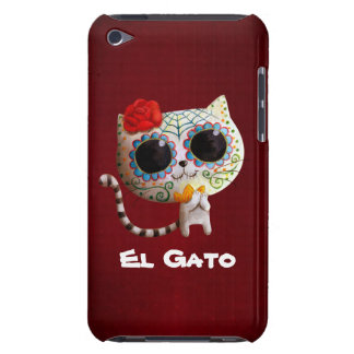 Cat of Day of The Dead iPod Touch Covers