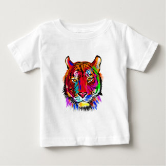 Cat of many colors baby T-Shirt