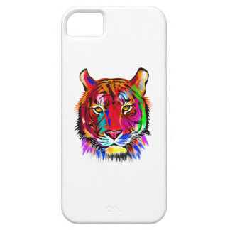 Cat of many colors case for the iPhone 5