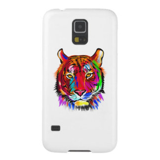 Cat of many colors galaxy s5 cases