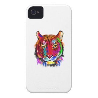 Cat of many colors iPhone 4 case
