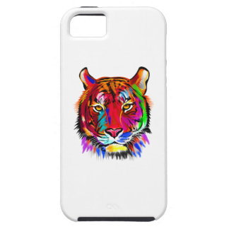 Cat of many colors iPhone 5 covers