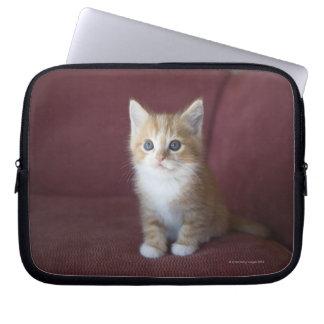 Cat on sofa laptop sleeve