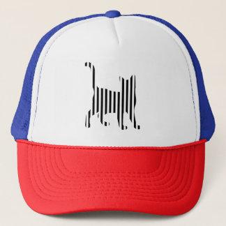 Cat on Stripes Trucker Hat