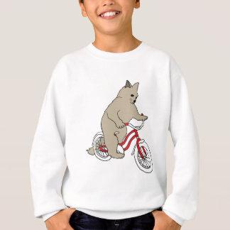 Cat On Youth Bike Sweatshirt