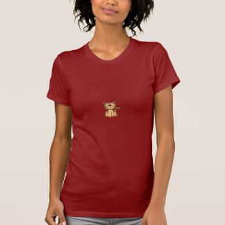 cat-orange-brown-cartoon-sitting T-Shirt
