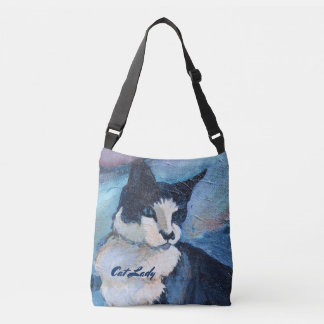 Cat Painting Custom Template Bag