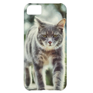 Cat painting iPhone 5C case