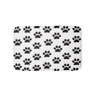 Cat Paw Prints Bath Mat