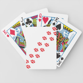 Cat Paws Feet Poker Deck