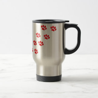 Cat Paws Feet Travel Mug
