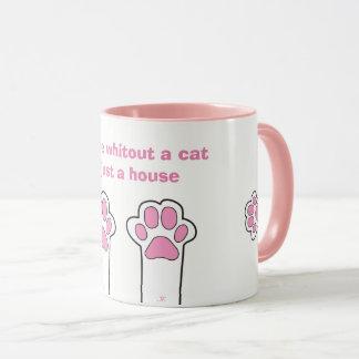 Cat paws mug