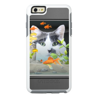 Cat Peering in Fish Tank OtterBox iPhone 6/6s Plus Case
