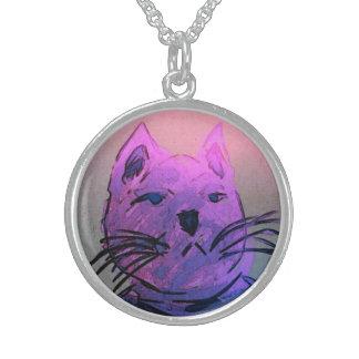 Cat Pendant Necklace #1