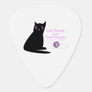 Cat People Are Cool People Plectrum