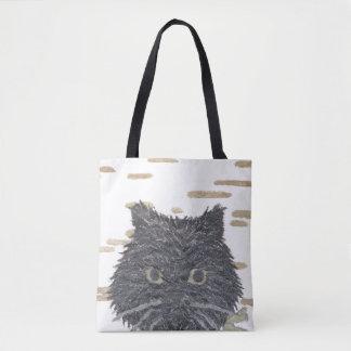 Cat, Persian Cat, Black Cat Tote Bag