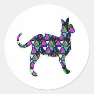 Cat PET kids graphic sticker decoration birthday Stickers