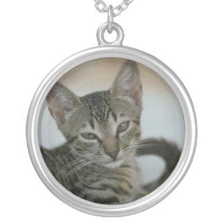 Cat Photo Necklace