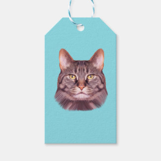Cat Photo Portrait Gift Tags