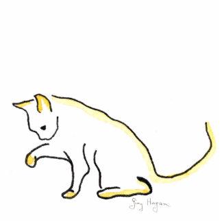 Cat Photo Sculpture