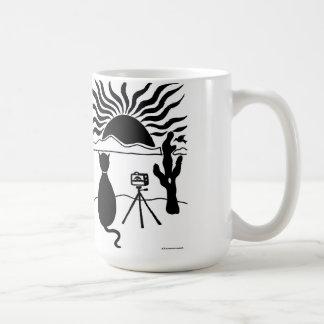 Cat Photographer Southwest Coffee Mug