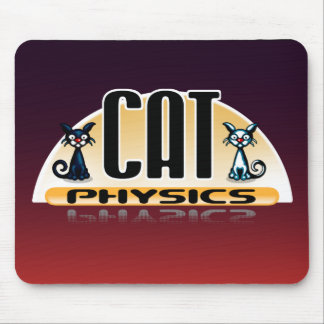 Cat Physics Mousepad