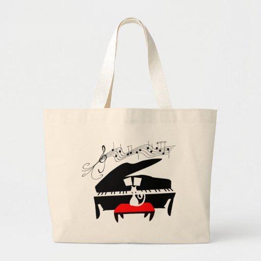 Cat & Piano Bags
