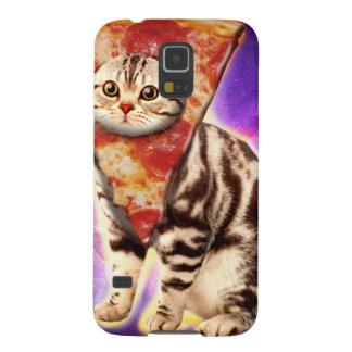 Cat pizza - cat space - cat memes galaxy s5 cover