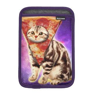 Cat pizza - cat space - cat memes iPad mini sleeve