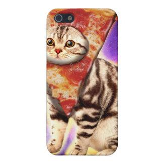 Cat pizza - cat space - cat memes iPhone 5/5S cover