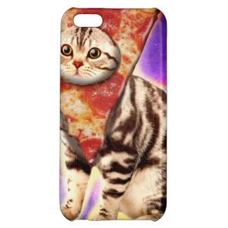 Cat pizza - cat space - cat memes iPhone 5C cover