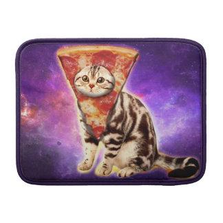 Cat pizza - cat space - cat memes sleeve for MacBook air