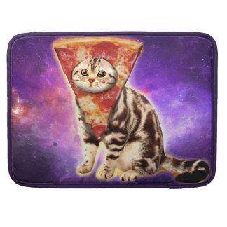 Cat pizza - cat space - cat memes sleeve for MacBooks