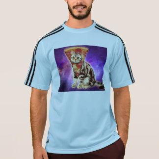 Cat pizza - cat space - cat memes T-Shirt
