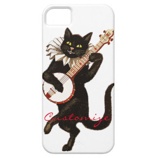 Cat playing Banjo Thunder_Cove Case For The iPhone 5