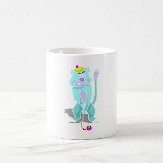 Cat Playing Golf Coffee Mug