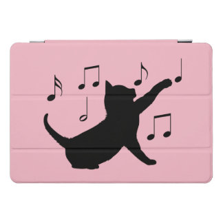 Cat  Playing with Music Notes iPad Pro Cover