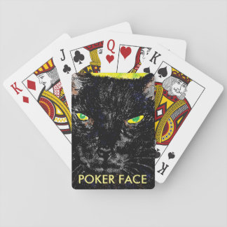Cat Poker Face deck of cards