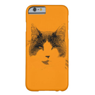 Cat Portrait Barely There iPhone 6 Case